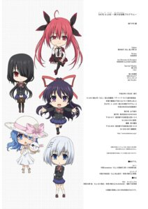 Rating: Questionable Score: 9 Tags: chibi date_a_live tagme User: kiyoe