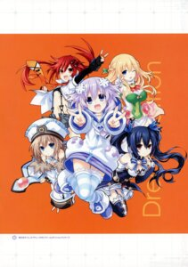 Rating: Questionable Score: 12 Tags: blanc choujigen_game_neptune neptune noire shinjigen_game_neptune_vii tennouboshi_uzume tsunako vert User: Radioactive