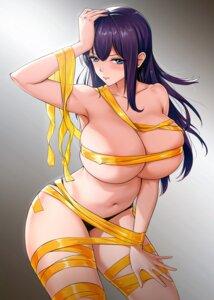 Rating: Questionable Score: 44 Tags: areola bondage jing_jian naked_ribbon pantsu User: BattlequeenYume