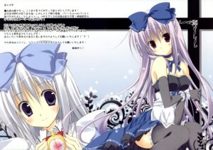 Rating: Safe Score: 34 Tags: alice_(korie_riko) dress korie_riko mujin_shoujo thighhighs User: blooregardo