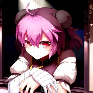 Rating: Safe Score: 24 Tags: bandages chinadress ibaraki_kasen kikoka_(mizuumi) touhou User: Mr_GT