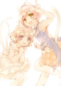 Rating: Safe Score: 20 Tags: animal_ears bloomers fujieda_miyabi hoshizora_rin koizumi_hanayo love_live! nekomimi tail User: blooregardo