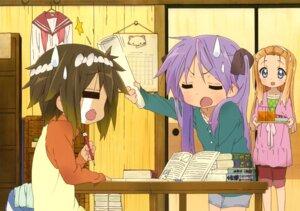 Rating: Safe Score: 16 Tags: hiiragi_kagami kusakabe_misao lucky_star minegishi_ayano User: kyoushiro