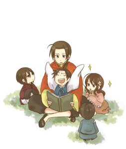 Rating: Safe Score: 5 Tags: china hetalia_axis_powers hong_kong japan korea mokiji taiwan User: yumichi-sama