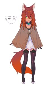 Rating: Safe Score: 18 Tags: animal_ears enkyo_yuuichirou stockings tagme tail thighhighs User: Radioactive