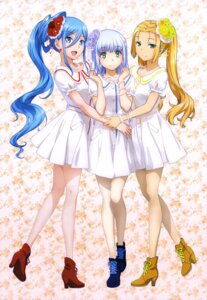 Rating: Safe Score: 86 Tags: aoki_hagane_no_arpeggio dress haruna_(aoki_hagane_no_arpeggio) heels iona morita_kazuaki takao_(aoki_hagane_no_arpeggio) User: drop