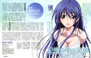 Rating: Questionable Score: 17 Tags: cleavage dress eba_yuzuki kimi_no_iru_machi oota_kazuhiro summer_dress User: drop