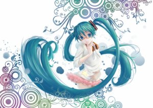 Rating: Safe Score: 34 Tags: hatsune_miku headphones megane sola7764 vocaloid User: aoie_emesai