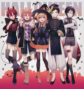 Rating: Questionable Score: 11 Tags: abandon_ranka animal_ears asian_clothes atsushi_toushirou bandages blood gotou_toushiro halloween horns midare_toushirou pointy_ears shinano_toushirou stockings tail thighhighs touken_ranbu trap witch yagen_toushirou User: animeprincess