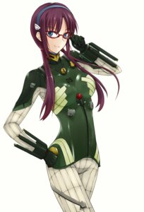 Rating: Safe Score: 36 Tags: bodysuit makinami_mari_illustrious megane neon_genesis_evangelion prime User: Radioactive