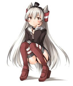 Rating: Questionable Score: 34 Tags: amatsukaze_(kancolle) cameltoe kaminagi_(kaminagi-tei) kantai_collection pantsu seifuku stockings thighhighs User: zero|fade