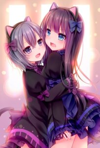 Rating: Safe Score: 76 Tags: animal_ears dress nachi nekomimi tail User: DarkRoseofHell