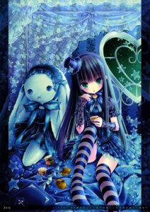 Rating: Questionable Score: 71 Tags: calendar gothic_lolita loli lolita_fashion pantsu thighhighs tinkle User: WtfCakes