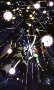 Rating: Safe Score: 3 Tags: gun gundam mecha mobile_suit_gundam ms-06_zaku_ii sword User: Radioactive
