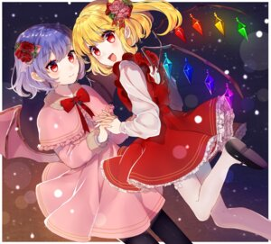 Rating: Safe Score: 32 Tags: flandre_scarlet kawachi_rin pantyhose remilia_scarlet touhou wings User: Mr_GT