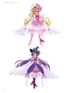 Rating: Questionable Score: 4 Tags: heels mahou_girls_precure! miyamoto_emiko pretty_cure wings witch User: drop