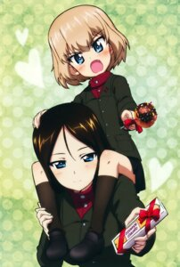 Rating: Safe Score: 33 Tags: girls_und_panzer katyusha nonna uniform valentine User: Radioactive