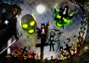 Rating: Safe Score: 16 Tags: black_devil_girl black_gold_saw black_rock_shooter black_rock_shooter_(character) dead_master ta_(shyura) vocaloid User: Radioactive
