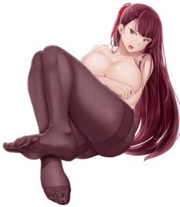 Rating: Questionable Score: 49 Tags: breast_hold cameltoe chiyo_goya feet girls_frontline pantyhose topless wa2000_(girls_frontline) User: Mr_GT