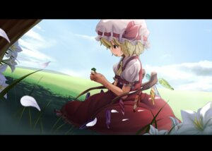 Rating: Safe Score: 16 Tags: eto flandre_scarlet oohashiyou touhou User: fireattack