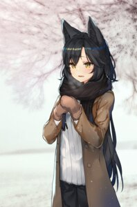 Rating: Safe Score: 65 Tags: ahri animal_ears haru_ato league_of_legends User: nphuongsun93
