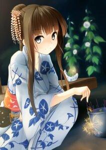 Rating: Safe Score: 63 Tags: japanese_clothes kuroneko_shiro yukata User: TassadaR