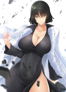 Rating: Questionable Score: 52 Tags: cleavage dress erect_nipples fubuki_(one_punch_man) haganef no_bra one_punch_man User: mash