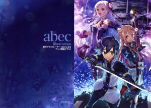 Rating: Safe Score: 15 Tags: abec dress pantyhose sword sword_art_online uniform User: drop