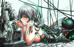 Rating: Questionable Score: 32 Tags: ass gbsartworks mecha_musume topless User: BattlequeenYume