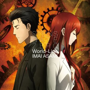 Rating: Safe Score: 10 Tags: disc_cover makise_kurisu okabe_rintarou steins;gate User: blooregardo