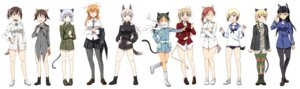 Rating: Safe Score: 22 Tags: agahari animal_ears bunny_ears charlotte_e_yeager eila_ilmatar_juutilainen erica_hartmann francesca_lucchini gertrud_barkhorn lynette_bishop megane minna_dietlinde_wilcke miyafuji_yoshika nekomimi perrine-h_clostermann sakamoto_mio sanya_v_litvyak strike_witches tail thighhighs uniform User: Radioactive