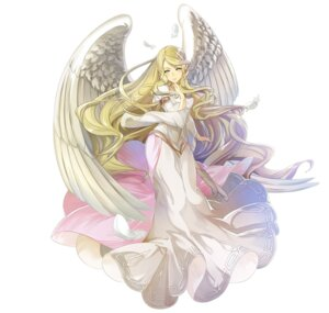 Rating: Questionable Score: 12 Tags: angel dress fire_emblem fire_emblem:_souen_no_kiseki fire_emblem_heroes leanne nintendo wings yura User: fly24