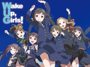 Rating: Safe Score: 19 Tags: chikahito_takamoto hayashida_airi hisami_nanami katayama_minami kikuma_kaya nanase_yoshino okamoto_miyu seifuku shimada_mayu wake_up_girls! wallpaper User: Radioactive