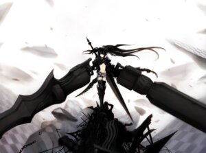 Rating: Safe Score: 21 Tags: black_rock_shooter black_rock_shooter_(character) insane_black_rock_shooter siv thighhighs vocaloid User: Radioactive