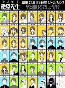 Rating: Safe Score: 11 Tags: amakudari-sama aoyama_(sayonara_zetsubou_sensei) arai_chie eyepatch fujiyoshi_harumi fuura_kafuka haga_(sayonara_zetsubou_sensei) hito_nami hokuou ikkyuu_(sayonara_zetsubou_sensei) itoshiki_enishi itoshiki_kei itoshiki_majiru itoshiki_mikoto itoshiki_nozomu itoshiki_rin jinroku_(sayonara_zetsubou_sensei) kaga_ai kimura_kaere kino_kuniya kitsu_chiri kiyohiko kobushi_abiru komori_kiri kotonon kudou_jun li_nakanao maedax manseibashi_wataru marui_(sayonara_zetsubou_sensei) maruuchi_shouko megane mirucho mitama_mayo moto-sekiutsu_tarou nezu_miko niang_niang ookusa_manami otonashi_meru oura_kanako sayonara_zetsubou_sensei seifuku sekiutsu_maria_taro takashi_(sayonara_zetsubou_sensei) tokita_(sayonara_zetsubou_sensei) tsunetsuki_matoi usui_kagerou User: charunetra