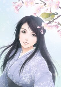 Rating: Safe Score: 20 Tags: japanese_clothes satochi User: charunetra