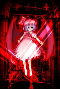Rating: Safe Score: 5 Tags: dress remilia_scarlet touhou umekichi wings User: charunetra