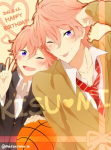 Rating: Safe Score: 5 Tags: free! high_speed! male matsurinnu seifuku shigino_kisumi User: kunkakun