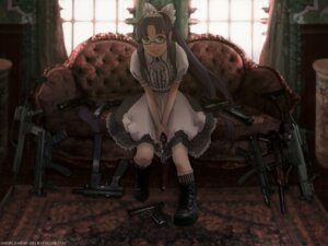 Rating: Safe Score: 9 Tags: gun lolita_fashion megane skimlines wallpaper User: charunetra