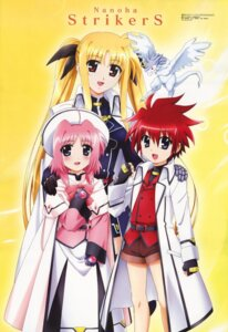 Rating: Safe Score: 3 Tags: caro_ru_lushe erio_mondial fate_testarossa friedrich mahou_shoujo_lyrical_nanoha mahou_shoujo_lyrical_nanoha_strikers okuda_yasuhiro User: Radioactive