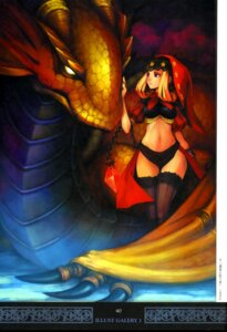 Rating: Safe Score: 26 Tags: odin_sphere shigatake thighhighs velvet User: majoria