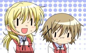 Rating: Safe Score: 10 Tags: hidamari_sketch miyako vector_trace wallpaper yuno User: admin2