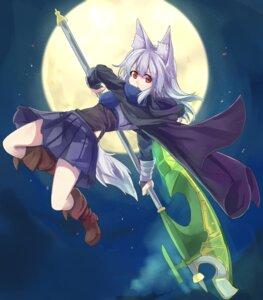 Rating: Safe Score: 28 Tags: animal_ears heels tail waichi weapon User: KazukiNanako