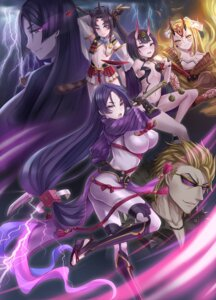 Rating: Safe Score: 41 Tags: breasts fate/grand_order heels horns ibaraki_douji_(fate/grand_order) japanese_clothes megane minamoto_no_raikou_(fate/grand_order) no_bra open_shirt sakata_kintoki_(fate/grand_order) shuten_douji_(fate/grand_order) sword tattoo ushiwakamaru_(fate/grand_order) yuemanhuaikong User: Mr_GT