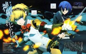 Rating: Safe Score: 15 Tags: aegis arisato_minato megaten persona persona_3 sword yoshida_yuuko User: drop