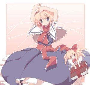 Rating: Safe Score: 9 Tags: alice_margatroid machily shanghai touhou User: konstargirl
