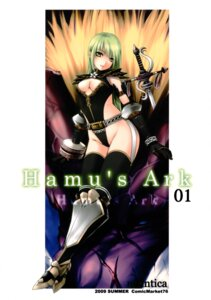 Rating: Questionable Score: 15 Tags: cleavage noantica ooji thighhighs User: midzki