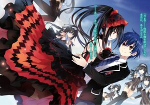 Rating: Safe Score: 45 Tags: arusu_marina date_a_live dress gothic_lolita lolita_fashion seifuku thighhighs tokisaki_kurumi tsunako User: kiyoe