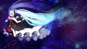 Rating: Safe Score: 25 Tags: 7th_dragon_2020-ii dress hatsune_miku headphones thighhighs torieto User: charunetra