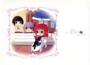 Rating: Safe Score: 9 Tags: chibi murohashi_hiroko pantyhose saki seifuku takei_hisa yumeno_maho User: RICO740